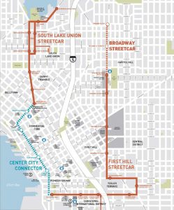 Seattle Streetcar - Project Map from Agency Document (Cropped)